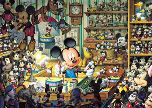 Tenyo Japan Jigsaw Puzzle D-500-354 Disney Mickey Mouse (500 Pieces)