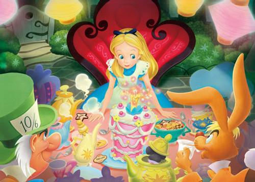 Tenyo Japan Jigsaw Puzzle D-500-394 Disney Alice in Wonderland (500 Pieces)