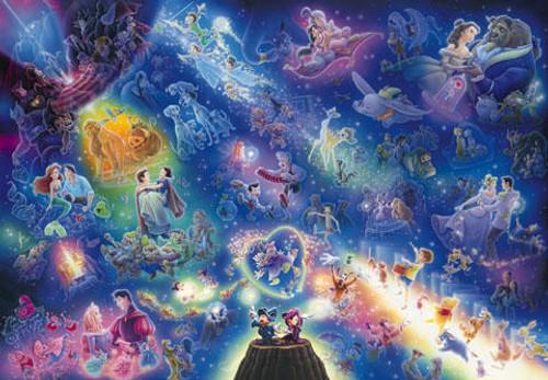 Tenyo Japan Jigsaw Puzzle DSG-266-740 Disney All Star Symphony (266 Pieces)