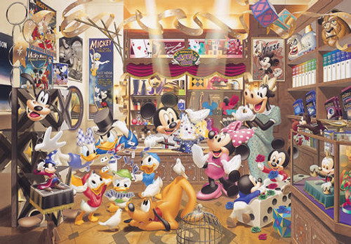 Tenyo Japan Jigsaw Puzzle DW-1000-259 Disney Mickey's Majic Shop (1000 Pieces)