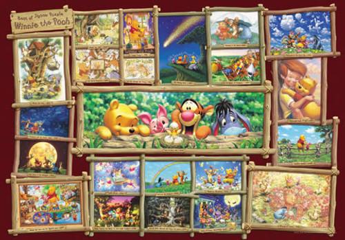 Tenyo Japan Jigsaw Puzzle DW-1000-394 Disney Winnie-the-Pooh (1000 Pieces)