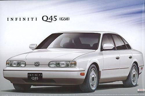 Aoshima 00052 Nissan Infiniti Q45 (G50) 1/24 scale kit