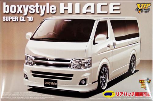 Aoshima 00717 Toyota Hiace Super GL 2010 boxystyle Design 1/24 Scale Kit