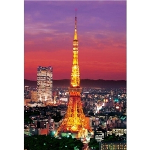 Epoch Jigsaw Puzzle 26-129S Tokyo Tower Lightup (300 Pieces)
