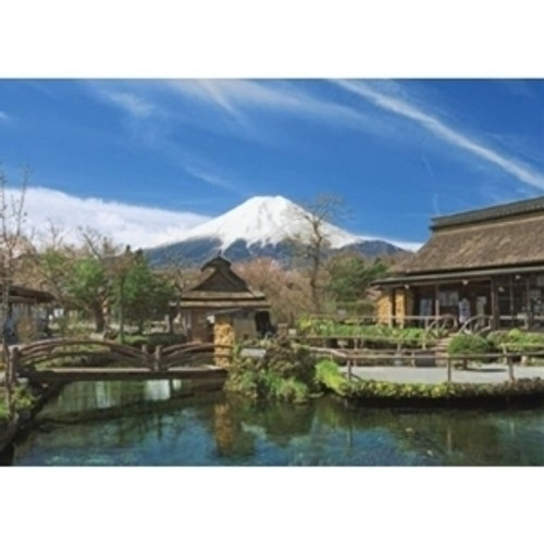 Epoch Jigsaw Puzzle 57-502 Japanese Scenery Yamanashi Japan (759 S-Pieces)