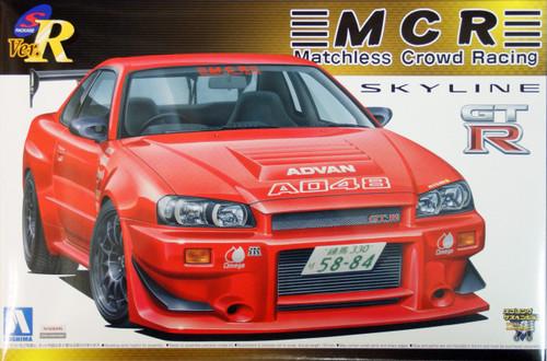 Aoshima 42861 Nissan Skyline GT-R (R34) MCR Version 1/24 Scale Kit