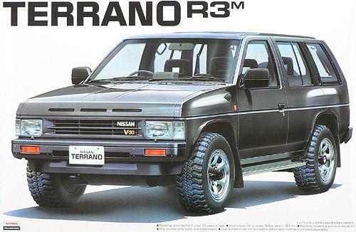 Aoshima 44155 Nissan Terrano R3M 1991 1/24 Scale Kit