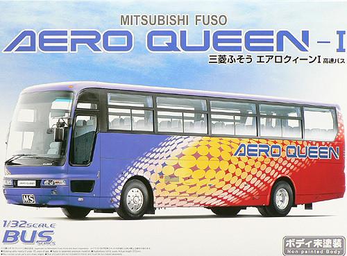 Aoshima 46562 Mitsubishi Fuso Aero Queen Bus 1/32 Scale Kit