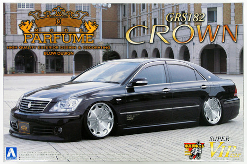 Aoshima 46814 Toyota Crown (GRS182) Mode Parfume Styling 1/24 Scale Kit