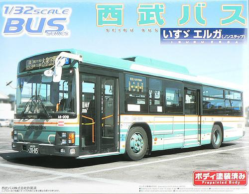 Aoshima 46906 Isuzu Erga Seibu Bus 1/32 scale kit