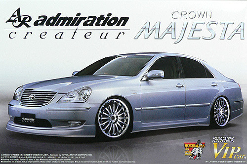Aoshima 47620 Toyota Majesta UZS186 admiration 1/24 Scale Kit