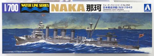 Aoshima Waterline 40102 IJN Japanese Light Cruiser NAKA 1/700 Scale Kit