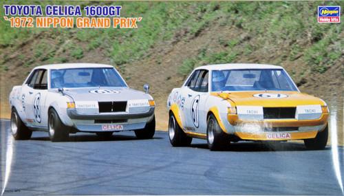 Hasegawa HR07 TOYOTA CELICA 1600GT 1972 Japan Grand Prix 1/24 Scale Kit