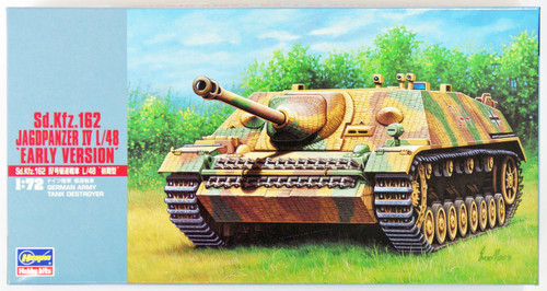 "Hasegawa MT49 Sd.Kfz 162 JAGDPANZER IV L/48EARLY"" 1/72 Scale Kit"""