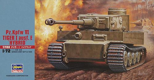 """Hasegawa MT55 Pz.Kpfw VI TIGER I ausf.E HYBRID"""" 1/72 Scale Kit"""""""