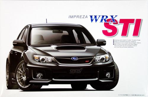 Aoshima 50538 Subaru Impreza WRX STI 2010 1/24 Scale Kit