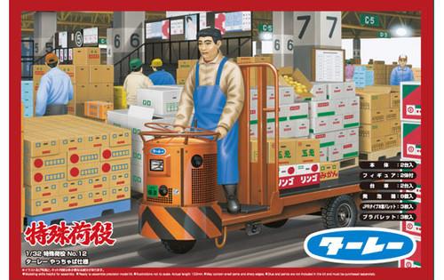 Aoshima 00885 Turret Truck (Fruit & Vegetable Market) 1/32 Scale Kit