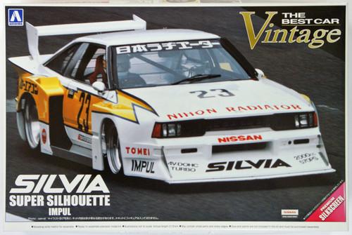 Aoshima 09918 Nissan Silvia IMPUL Turbo Silhouette 1982 1/24 Scale Kit