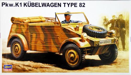 Hasegawa MV3 German Pkw.K1 Kubelwagen Type 82 1/24 Scale Kit