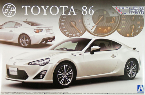Aoshima 02209 Toyota 86 GT Limited 1/24 Scale Kit