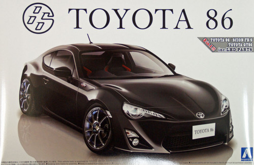 Aoshima 02230 Toyota 86 Custom Wheel 1/24 Scale Kit