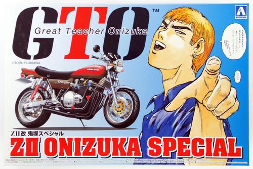 Aoshima 05606 Shonan Lovers GTO Z II Onizuka Special Motorcycle 1/12 Scale Kit