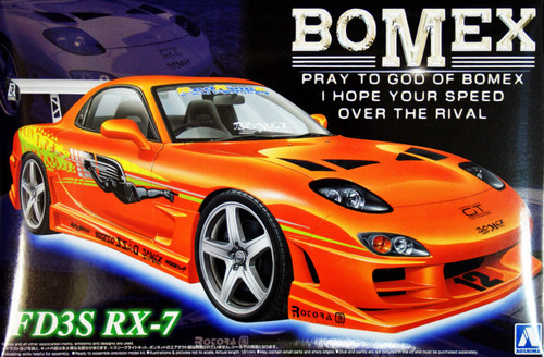 Aoshima 05866 Mazda RX-7 (FD3S) BOMEX Version 1/24 Scale Kit