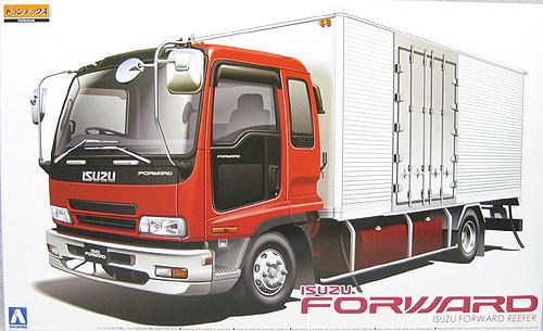 Aoshima 50507 Isuzu Forward Truck Reefer 1/32 Scale Kit