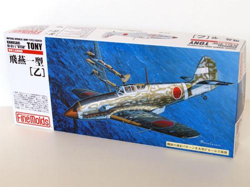 """Fine Molds FP24 KAWASAKI Ki-61-I """"OTSU"""" TONY 1/72 Scale Kit"""