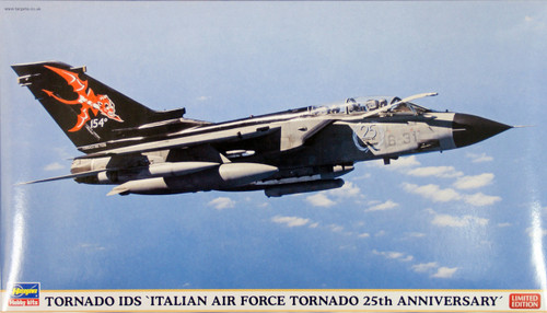 Hasegawa 02049 Tornado IDS Italian Air Force 25th Anniversary 1/72 Scale Kit