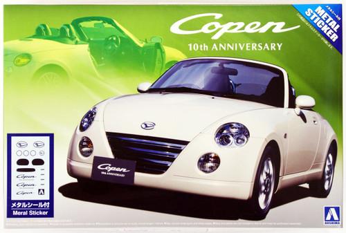 Aoshima 04944 Daihatsu Copen 10th Anniversary 1/24 Scale Kit