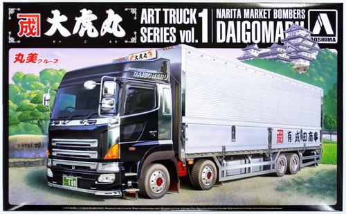 Aoshima 50460 Hino Profia Truck Narita Market Bombers DAIGOMARU 1/32 Scale Kit
