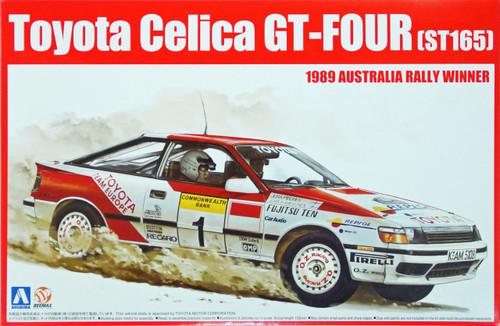 Aoshima 81198 Toyota Celica GT-Four ST165 1989 Australia Rally Winner 1/24 Scale Kit