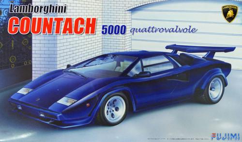 Fujimi EM14 Lamborghini Countach 5000 quattrovalvole 1/24 Scale Kit