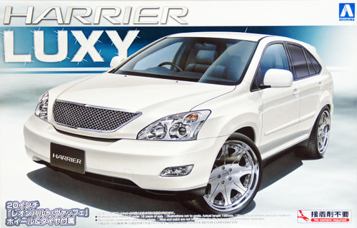 Aoshima 41758 Toyota Harrier 350G Luxy 1/24 Scale Kit