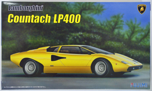 Fujimi EM26 Lamborghini Countach LP400 1/24 Scale Kit