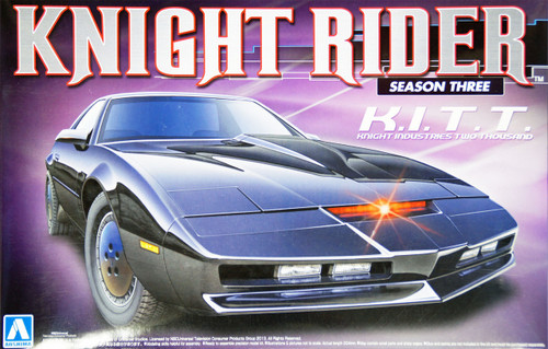 Aoshima 07037 Knight Rider KITT (KitT) Season 3 1/24 Kit