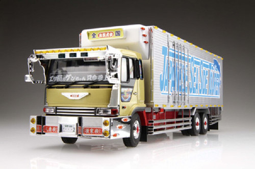 Aoshima 09574 Japanese Decoration Truck Large Refrigerated Truck 1/32 scale kit