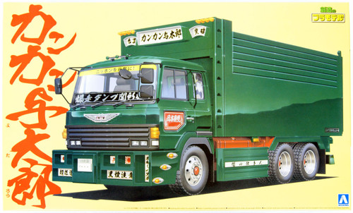 Aoshima 02728 Japanese Decoration Truck Kankan Yotaro 1/32 Scale Kit