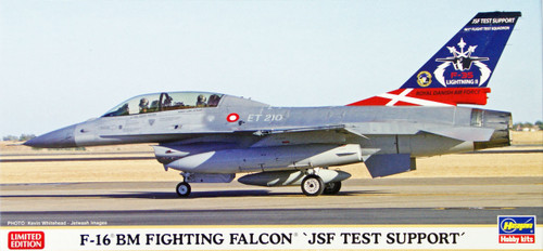 Hasegawa 02095 F-16 BM Fighting Falcon JSF Test Support 1/72 Scale Kit