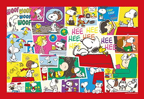 Apollo-sha Jigsaw Puzzle 48-743 Peanuts Snoopy Happy Life (300 Pieces)