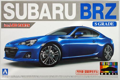 Aoshima 10075 Subaru BRZ 2012 S Grade 1/24 Scale Kit (Pre-painted Model)