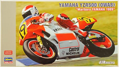 Hasegawa 21712 Yamaha YZR500 (OWA8) Marlboro YAMAHA 1989 1/12 Scale Kit (Limited Edition)