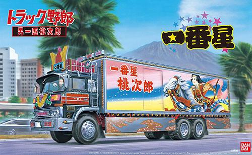 Aoshima 50514 Japanese Decoration Truck Ichiban Boshi Otoko Ippiki Momotaro 1/32 Scale Kit