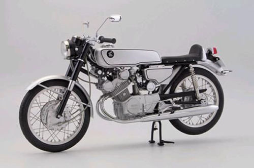Ebbro 10029 Honda CR93 Street Bike (Black) 1/10 scale