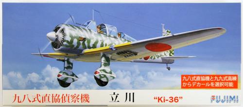 Fujimi C13 Tachikawa Ki-36 (Ida) 1/72 Scale Kit
