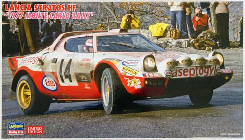 "Hasegawa 20268 Lancia Stratos HF 1977 Monte-Carlo Rally"" 1/24 Scale Kit"""