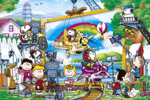 Epoch Jigsaw Puzzle 11-526 Peanuts Snoopy Movie Star (1000 Pieces)