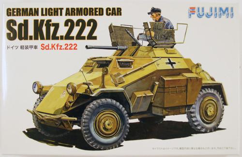 "Fujimi WA19 World Armor German Light Armored Car Sd.Kfz.222"" 1/76 scale kit """