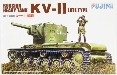 """Fujimi WA37 World Armor Russian Heavy Tank KV-II Late Type"""" 1/76 scale kit """""""